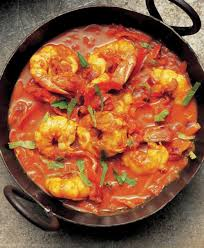 Foto King prawns balti