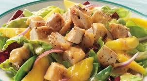 Foto Chicken mango salade