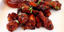 Foto Hot chicken wings